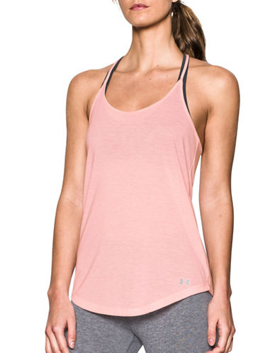 Under Armour Threadborne Train Heathered Twist Tank Top-BALLET PINK-X-Large 88966962_BALLET PINK_X-Large