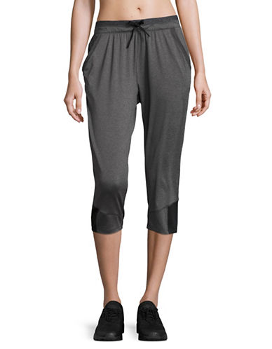 Under Armour Sport Crop Pants-CARBON HEATHER-X-Large 89136275_CARBON HEATHER_X-Large
