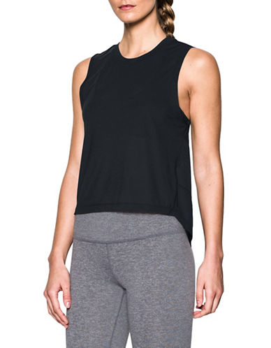 Under Armour Breathe Muscle Tank Top-BLACK-X-Small 88967053_BLACK_X-Small