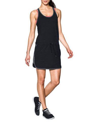 Under Armour Favorite Mesh Dress-BLACK-X-Large 89261073_BLACK_X-Large