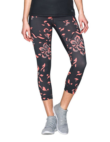 Under Armour Mirror Printed Crop Leggings-BLACK-X-Large 89207360_BLACK_X-Large