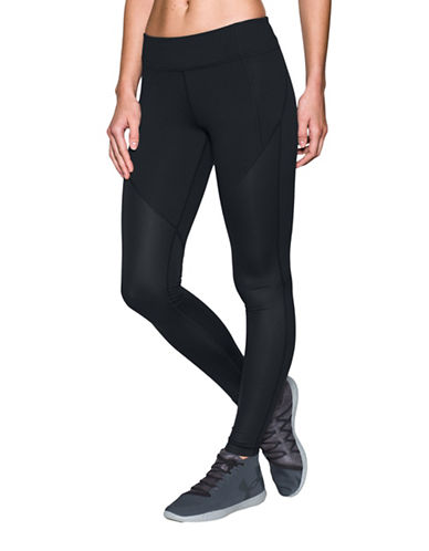 Under Armour Mirror StudioLux Shine Leggings-BLACK-X-Large 88967002_BLACK_X-Large