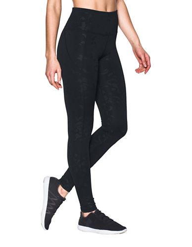 Under Armour Mirror Hi-Rise Printed Leggings-BLACK-Large 89207354_BLACK_Large