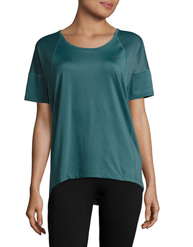 Under Armour Mesh Panel Sport T-Shirt-MARLIN BLUE-Small 89136262_MARLIN BLUE_Small