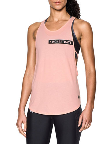 Under Armour No Cheat Days Strappy Tank Top-BALLET PINK-X-Small 88967038_BALLET PINK_X-Small