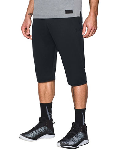 Under Armour Baseline Half Pants-BLACK-Medium 89163151_BLACK_Medium