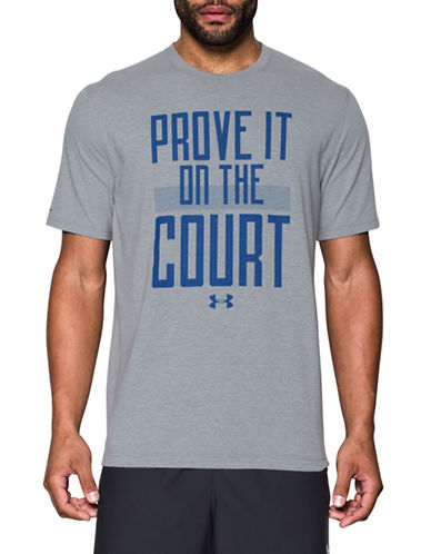 Under Armour Prove It On the Court Printed Basketball Tee-GREY-Small 89098945_GREY_Small