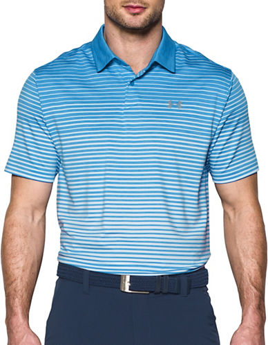Under Armour CoolSwitch Trajectory Ombre Stripe Polo-BLUE-Large 89183160_BLUE_Large