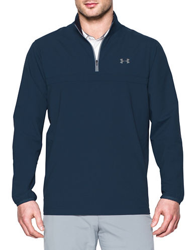 Under Armour Windstrike Half  Zipper Golf Jacket-BLUE-X-Large 89128019_BLUE_X-Large