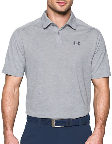 Under Armour Threadborne Polo-GREY-Small 89183163_GREY_Small
