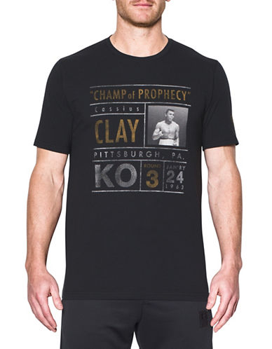 Under Armour Ali Collectable Fight 17 Tee-BLACK-Small 89163045_BLACK_Small