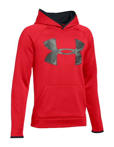 Under Armour Storm Armour Fleece Hoodie-RED-Medium 88783726_RED_Medium