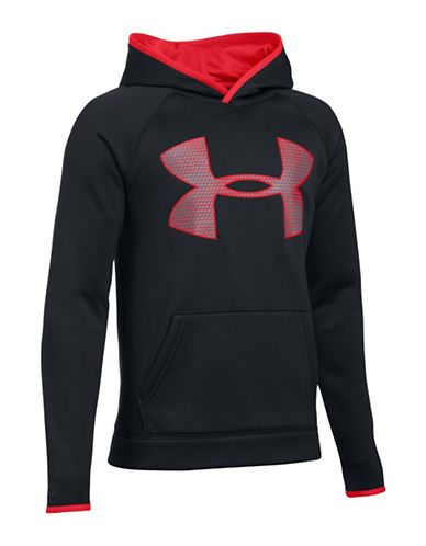 Under Armour Fleece Graphic Hoodie-BLACK-Large 88783711_BLACK_Large