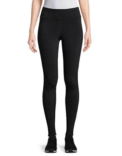 Under Armour Mirror Breathlux Floral Leggings-BLACK-Small