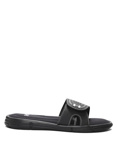 Under Armour Ignite VIII Slides-BLACK-10