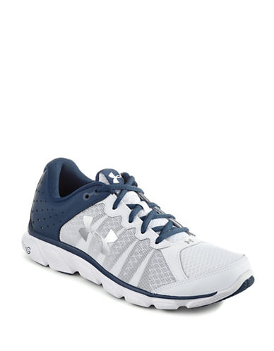 Under Armour UA Micro G Assert 6 Running Shoes-WHITE-9 89067428_WHITE_9