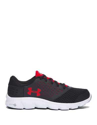 Under Armour Grade School UA Micro G  Rave-BLACK-4.5