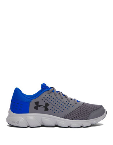 Under Armour Grade School UA Micro G  Rave-SILVER-4.5