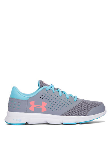 Under Armour Grade School UA Micro G  Rave-GREY-5.5