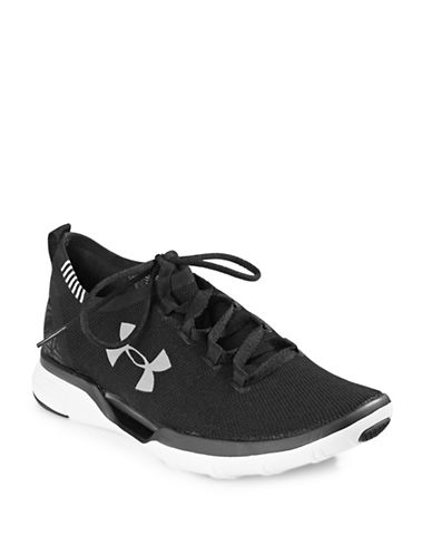Under Armour Womens Charged Cool Switch Sneakers-BLACK-8