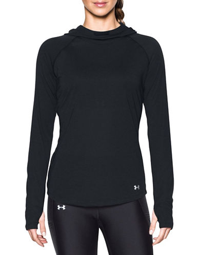 Under Armour Threadborne Streaker Hoodie-BLACK-X-Large 89224217_BLACK_X-Large