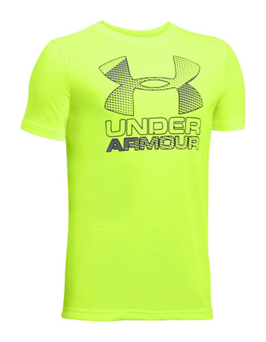Under Armour Big Logo Hybrid 2.0 T-Shirt-GREEN-X-Large 88919067_GREEN_X-Large