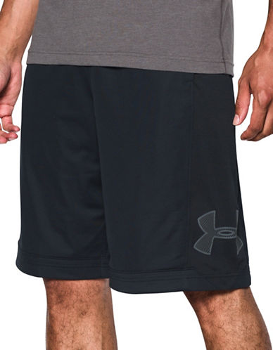 Under Armour Isolation Basketball Shorts-BLACK-Medium 89098846_BLACK_Medium