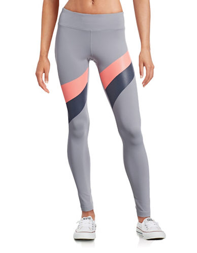 Under Armour Mirror Stripe Leggings-GREY-X-Large 88511677_GREY_X-Large