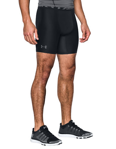 Under Armour HeatGear Armour Shorts-BLACK-Medium