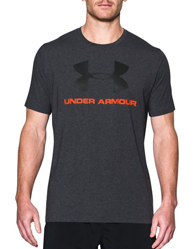Under Armour Sportstyle Logo T-Shirt-BLACK-Small 89232767_BLACK_Small