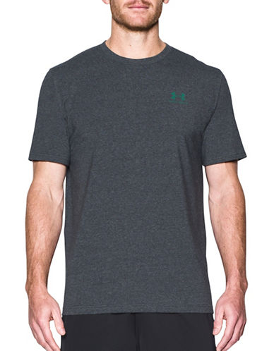 Under Armour Charged Cotton Sportstyle T-Shirt-BLACK-Small 89232777_BLACK_Small