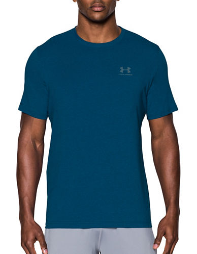 Under Armour Charged Cotton Sportstyle T-Shirt-BLUE-XX-Large 89232786_BLUE_XX-Large