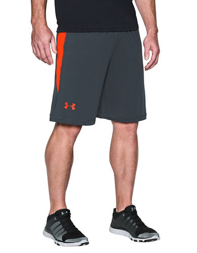 Under Armour Raid Colourblocked Shorts-GREY-Large 89055043_GREY_Large