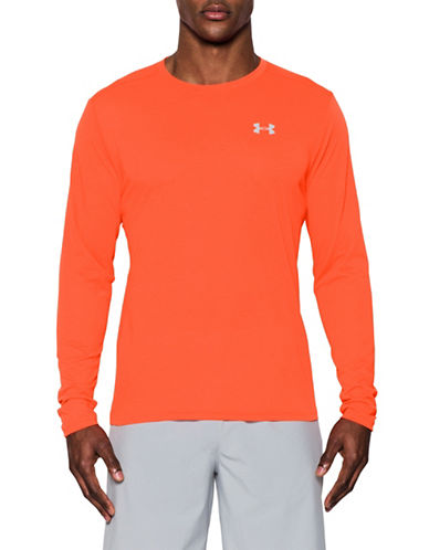 Under Armour Threadborne Streaker Long Sleeve Tee-RED-X-Large 89098823_RED_X-Large