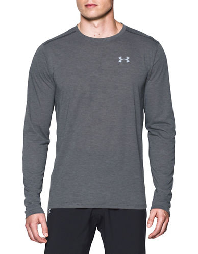 Under Armour Threadborne Streaker Long Sleeve Tee-GREY-Small 89098815_GREY_Small