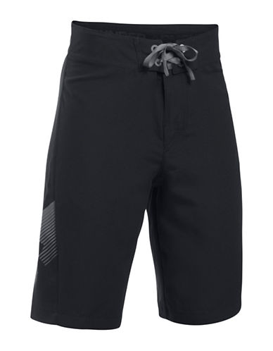 Under Armour Mania Tidal Boardshorts-BLACK-26 89054488_BLACK_26