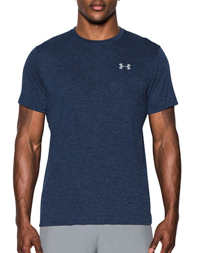 Under Armour Threadborne Streaker Short Sleeve Tee-BLUE-Large 89098812_BLUE_Large