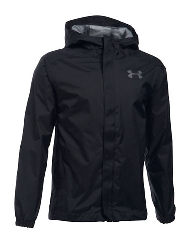 Under Armour Storm3 Hooded Jacket-BLACK-Large 88917273_BLACK_Large