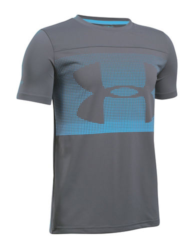Under Armour Sunblock Short Sleeve Tee-GREY-X-Large 89054510_GREY_X-Large