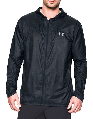 Under Armour Leeward Windbreaker Jacket-DARK GREY-Small 88983428_DARK GREY_Small