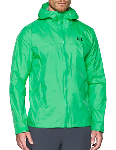 Under Armour Storm Surge Waterproof Windbreaker Jacket-GREEN-X-Large 88983451_GREEN_X-Large