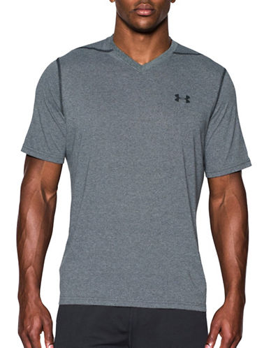 Under Armour Threadborne Siro T-Shirt-BLACK-X-Large