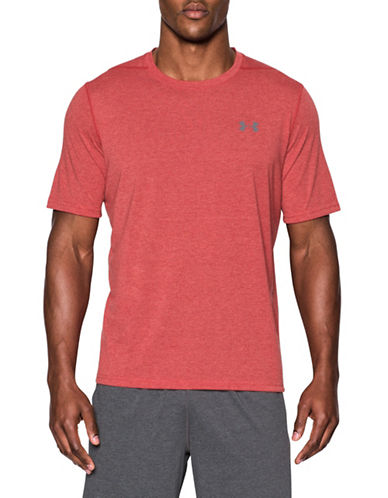 Under Armour Threadborne Siro 3C Twist T-Shirt-RED-Large 89103062_RED_Large
