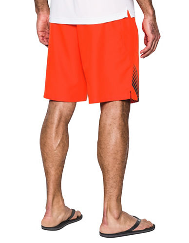 Under Armour Mania Volley Swim Shorts-RED-Large 89067102_RED_Large