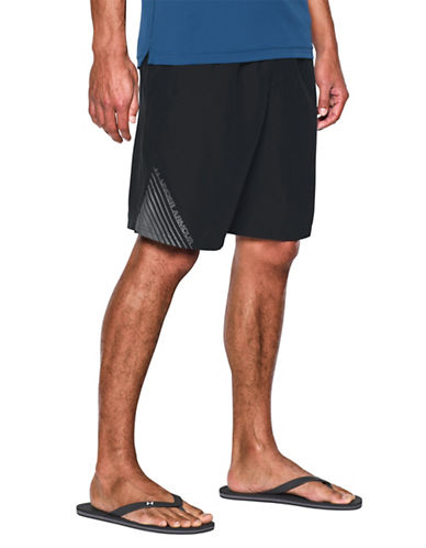 Under Armour Mania Volley Swim Shorts-BLACK-Small 89067090_BLACK_Small
