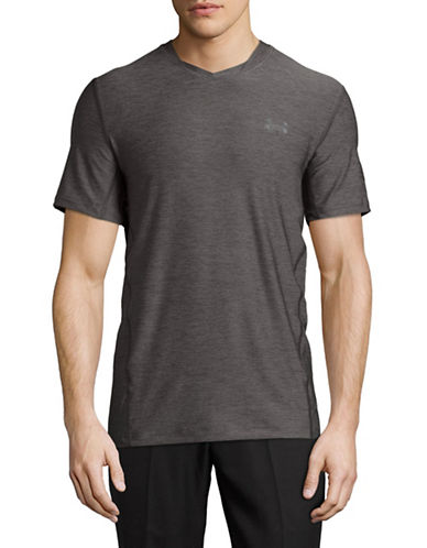 Under Armour Supervent Fitted T-Shirt-INDIGO-XX-Large