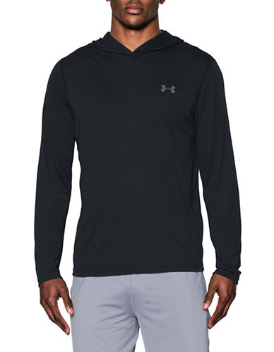 Under Armour Threadborne Siro Hoodie-BLACK-X-Large 89109236_BLACK_X-Large