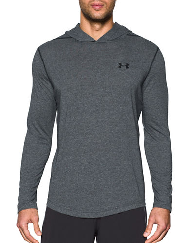 Under Armour Threadborne Siro Hoodie-BLACK-Small