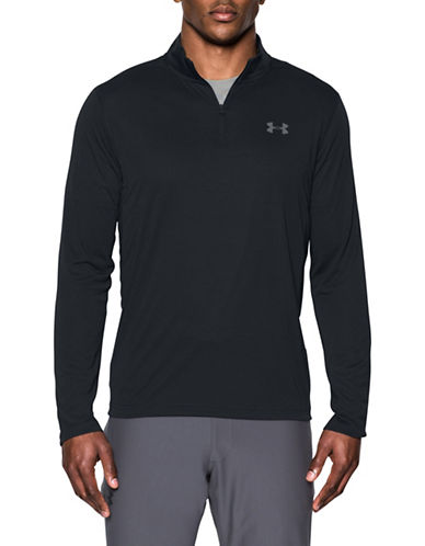 Under Armour Threadborne Siro Sweatshirt-BLACK-Small 89109228_BLACK_Small
