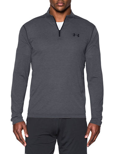 Under Armour Threadborne Siro Long Sleeve T-Shirt-GREY-Small 89103072_GREY_Small